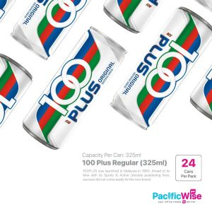 100 Plus Regular (325ml x 24can)