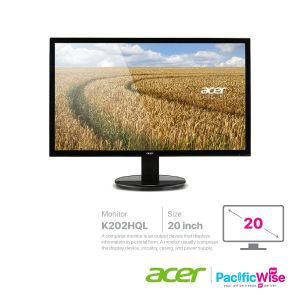 Acer Monitor 20 Inch (K202HQL)