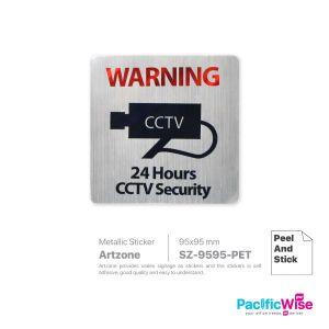 Artzone Sign Sticker SZ9595-PET-015-CCTV