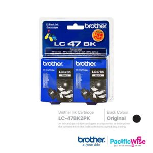 Brother Ink Cartridge LC47BK2PK (Original)