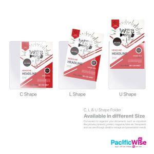 L Shape / C Shape / U Shape Folder