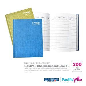 Cheque Record Book