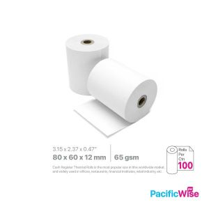 Thermal Paper Rolls TH 80 x 60 x 12