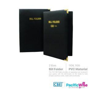 CBE Bill Folder with Sponge & Metal Corner
