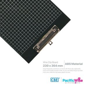 CBE Wire Clipboard ABS 1342