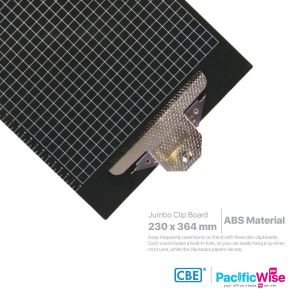 CBE Jumbo Clipboard ABS 1343