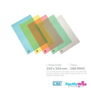 CBE L Shape Folder Colour for F4 Size