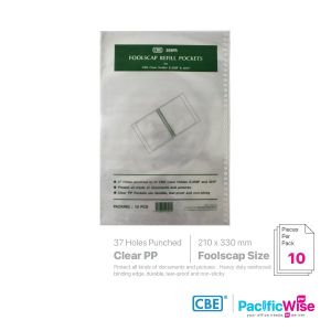 CBE Sheet Protector for Foolscap Papers 37 Holes 359FR