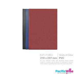 Certificate Holder PVC