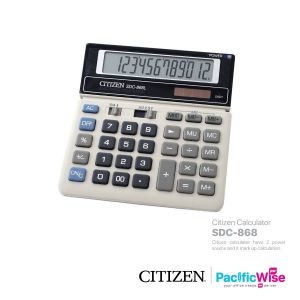 Citizen Calculator SDC-868