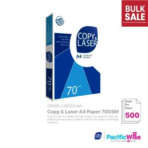Copy & Laser A4 Paper 70GSM (500'S)