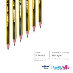 Dolphin 2B Pencil Clipper Value Pack
