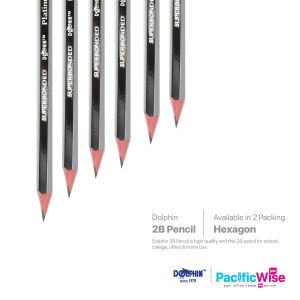 Dolphin 2B Pencil Platinum Value Pack