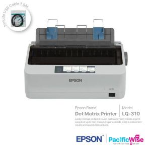 Epson Dot Matrix Printer LQ-310+USB Cable (1.8M)