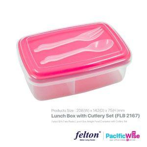 Felton Lunch Box with Cutlery Set (FLB 2167)