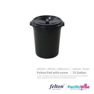Felton Pail with cover 12Gallon (F12T 465A)