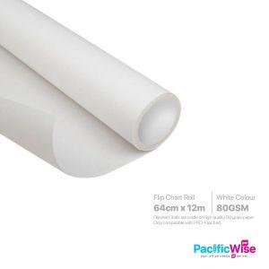 Flip Chart Roll (64cm x 12m)