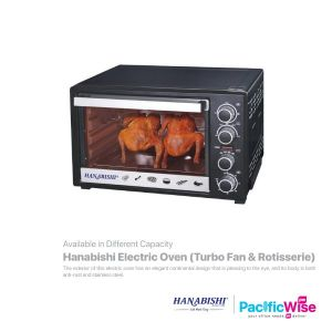 Hanabishi Electric Oven (Turbo Fan and Rotisserie)