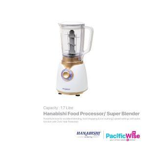Hanabishi Food Processor / Super Blender (1.7L)