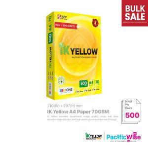 Indah Kiat IK Yellow A4 Paper 70GSM (500'S)