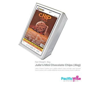 Julie's Mini Chocolate Chips (4kg) (TIN NOT REFUNDABLE)