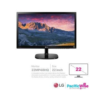 LG Monitor 22 Inch (22MP48HQ)