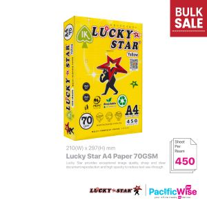 Lucky Star A4 Paper 70GSM (450'S)