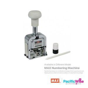 MAX Numbering Stamp