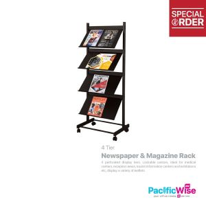 Newspaper & Magazine Rack (LT 379B)