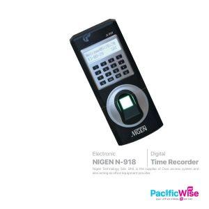 Nigen Fingerprint Time Recorder Door Access Control (N-918)