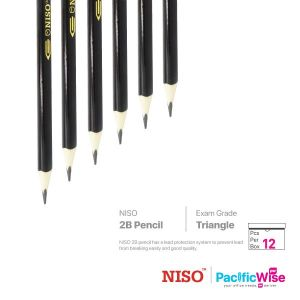 Niso 2B Pencil ABS Exam Grade (12'S)
