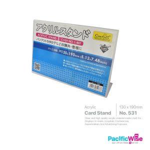 L Shape Card Stand (190mm x 130mm)