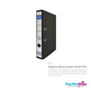 "Option Blue Lever Arch File 2"""