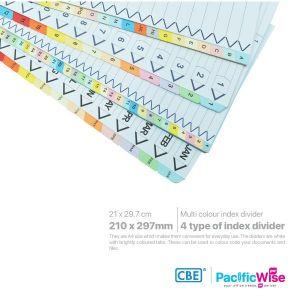 CBE Subject Index Divider
