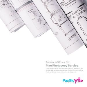 Plan Photocopy Service (Black & White)
