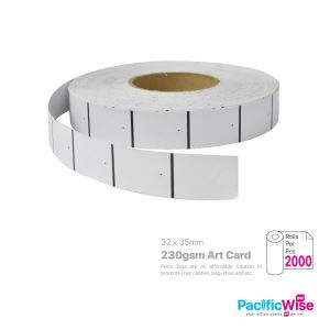 Price Tag 32mmx35mm (2000's/rolls)