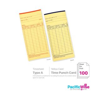 Time Punch Card