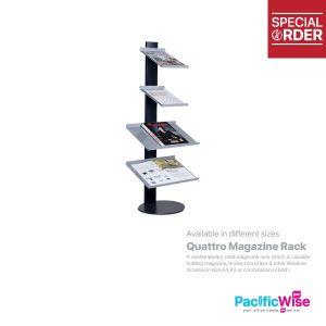 Quattro Magazine Rack