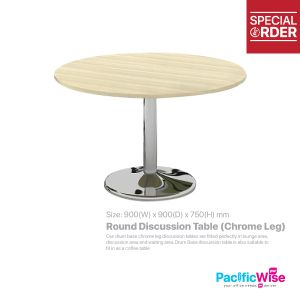 Round Discussion Table (Chrome Leg) - DL-900