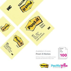 3M Removable Post-it Note (Yellow)