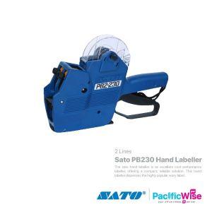 Sato PB230 Hand Labeller (2 lines)