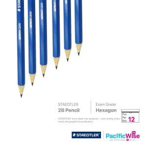 Staedtler 2B Pencil Mars Lumograph (12'S)
