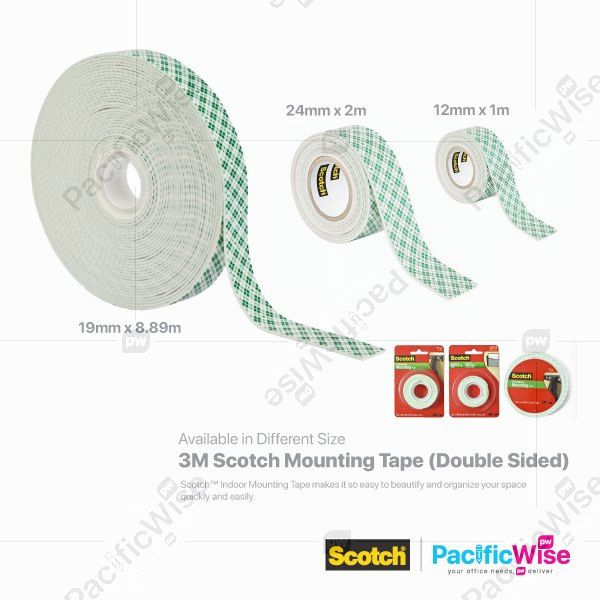 3M Scotch Mounting Tape (Double Sided)