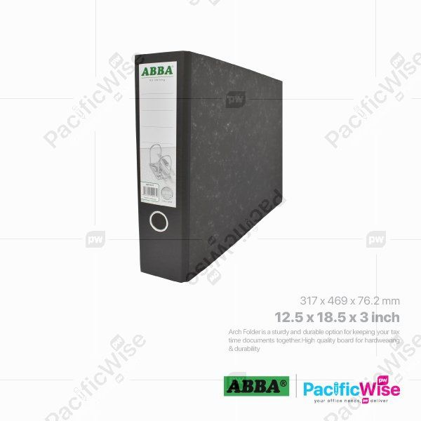 ABBA Lever Arch File A3 Oblong