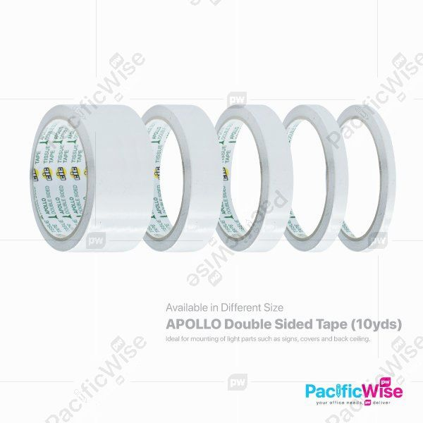 Apollo Double Sided Tape (10yds)
