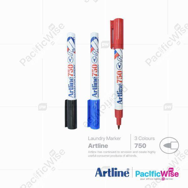 Artline/Laundry Marker/Penanda Dobi/Writing Pen/750/0.7mm