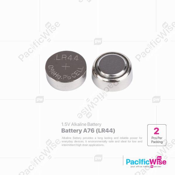 Battery A76 (LR44) (2pcs/pkt)