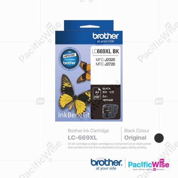 Brother Ink Cartridge LC-669XL Black (Original)