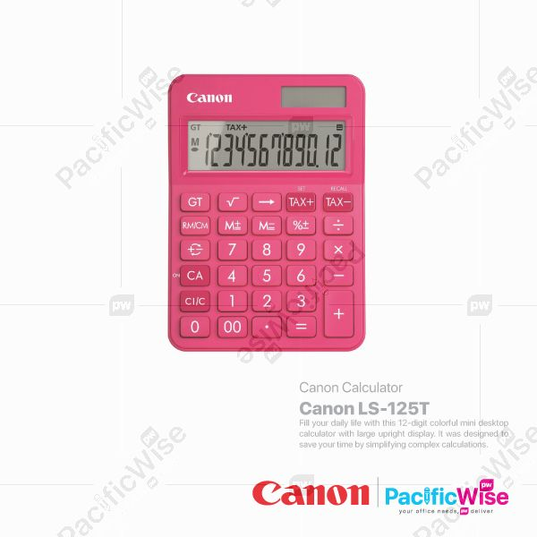 Canon Calculator LS-125T