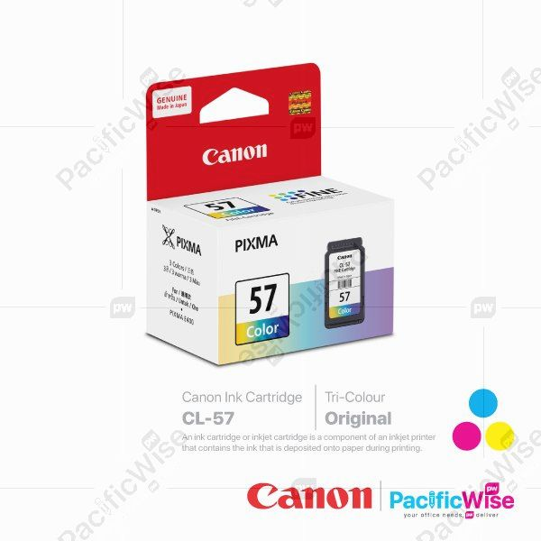 Canon Ink Cartridge CL-57 Tricolour (Original)